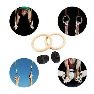 Olympic Gymnastic Gym Crossfit Strength Training Ring Strap Fitness Exercise NEW