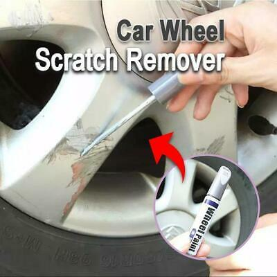 Car Wheel Scratch Remover Auto Filler Repair Cover Pen Waterproof Tire Paint New