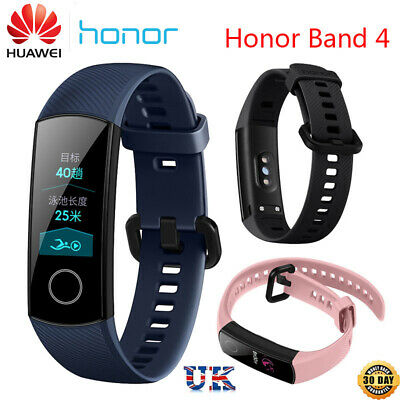 New Huawei Honor Band 4 0.95'' Touchscreen Smart Fitness Wristband  Heart Rate