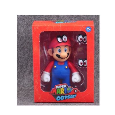 Super Mario bros Odyssey red action figure 12cm Christmas birthday gift A