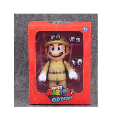 Super Mario bros Odyssey adventure action figure 12cm Christmas birthday gift  C