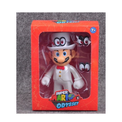 Super Mario bros Odyssey Wedding action figure 12cm Christmas birthday gift  D