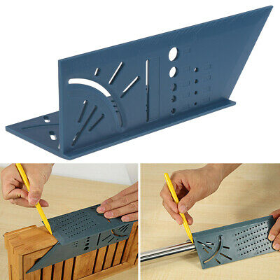 3D mitre angle measuring square size measure tool with gauge ruler