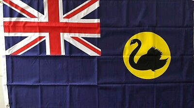 Western Australia Flag Large WA West Australian Flag AUSPOST REGISTERED TRACKING