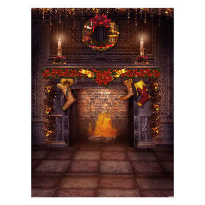 Andoer 1.5*2 meters / 5*7 feet Christmas Holiday Theme Background Photo S8Q0