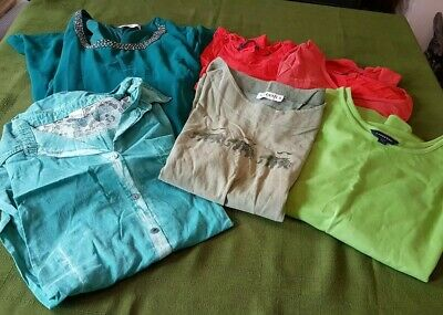 Bundle women's clothes size 20 22 dress tops t-shirts smart casual  Job lot 7R