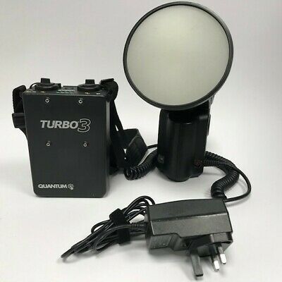 Quantum T5d-R flash & Turbo 3 Battery