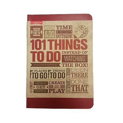 Lagoon Turn Off The TV 101 Things To Do Fun Activity Game Suggestion Book Gift