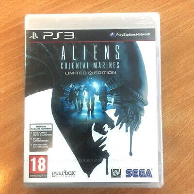 Aliens: Colonial Marines -- Limited Edition  (Sony PlayStation 3, PS3)
