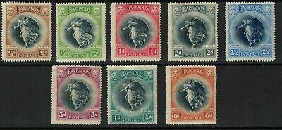Barbados stamps -1920 george v -winged victory louvre issue Mint hinged ss201>>