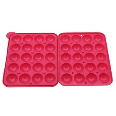 20 Slots Cupcake Pastry Truffle Party Lollipop Silicone Mould Making Tools DP
