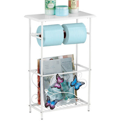 Butterfly Toilet Paper Magazine Holder, by Collections Etc