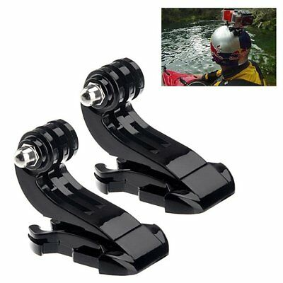 Buckle Mount Holder Adapter For GoPro Hero 2 3 3+ 4 2PCs Vertical J-Hook