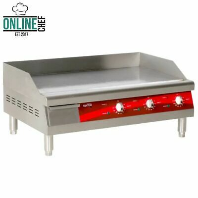 Electric Commercial Flat Top Restaurant Griddle Countertop Equipment Kitchen NSF