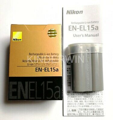 Nikon EN-EL15a Battery For DSLR Cameras D7500 D7200 D7100 D7000 D850 D810 D610..