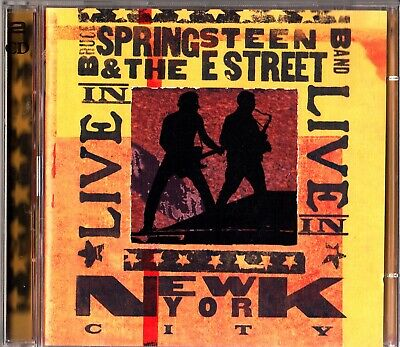 Bruce Springsteen & The E Street Band - LIVE In NYC 29th June 2000 2-CD