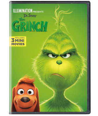 Illumination Presents: Dr. Seuss' The Grinch (DVD, 2019) *New*