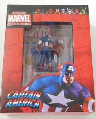 Classic Marvel Figurine Collection Captain America New Eaglemoss Movie