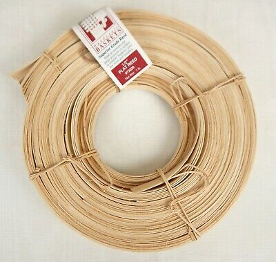 "Jadvick 1/2"" Flat Reed for Basketry Basket Making 1 lb Coil Natural #73029"
