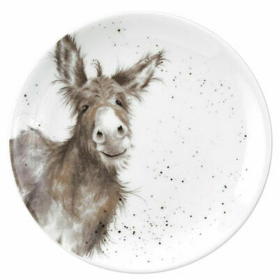 Wrendale By Royal Worcester - Single 16.5cm Coupe Plate - Donkey