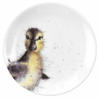 Wrendale By Royal Worcester - Single 16.5cm Coupe Plate - Duckling