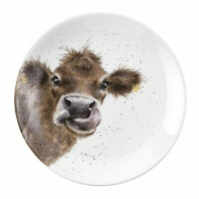 Wrendale By Royal Worcester - Single 16.5cm Coupe Plate - Highland Cow