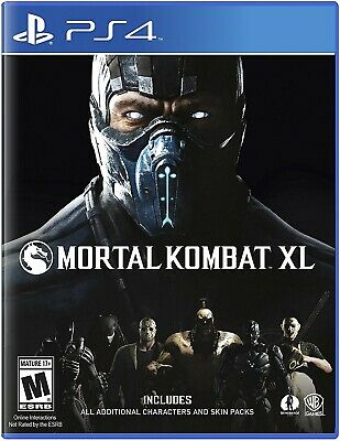 Playstation 4 Ps4 Game Mortal Kombat Xl Brand New And Sealed
