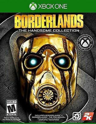 Xbox One Xb1 Game Borderlands Handsome Collection Brand New And Sealed