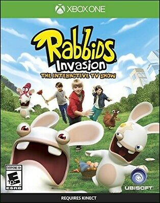 Xbox One Game Rabbids Invasion Brand New & Factory Sealed
