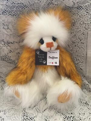 Saffron Kaycee Bears Limited Edition Plush 2015 Designed By Kelsey Cunningham