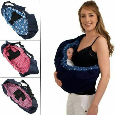 Newborn Infant Baby Carrier Sling Wrap Rider Backpack Nursing Pouch Papoose