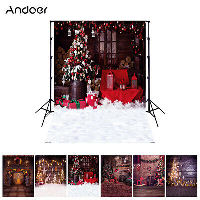 Andoer 1.5*2 meters / 5*7 feet Christmas Holiday Theme Background Photo F2X9
