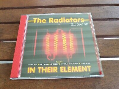 CD THE RADIATORS - In Their Element The Best Of (Rare 80's Australian Hits)