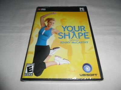 Your Shape Featuring Jenny Mccarthy Brand New Pc Dvd Rom Software Online Game