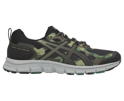 ASICS Men's GEL-Scram 4 Trail Running Sports Shoes - Black/Irvine