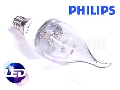 Philips 5w E14 220v 50Hz Warm White 350lm CRI80 LED Bent Tip Candle bulb