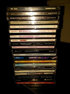 Classic Rock 20 CD LOT, All Come In Jewel Case With Artwork