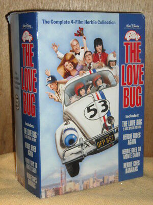 Herbie the Love Bug: Collection (DVD, 2004, 5-Disc Set) DISNEY Don Knotts comedy
