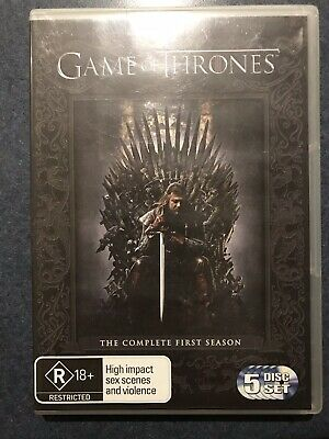 Game Of Thrones : Season 1 (DVD, 2012, 5-Disc Set)