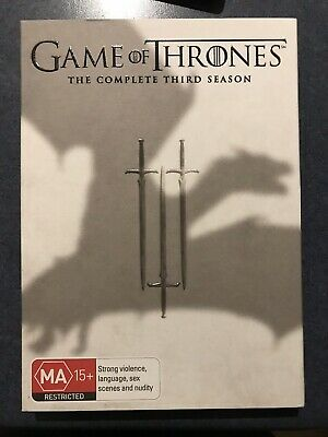 GAME OF THRONES Season 3 : NEW DVD