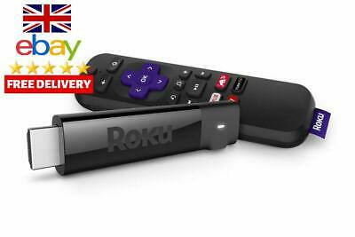 Roku Streaming Stick + Player Easy To Use Youtube Internet To TV Netflix Best UK