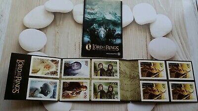 New Zealand 2003 Mint N H Booklet Lord Of The Rings C/W Sg 2470-5 Stamps  19B/75