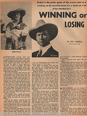Rodeo Stars - A Game of Winning or Losing - History