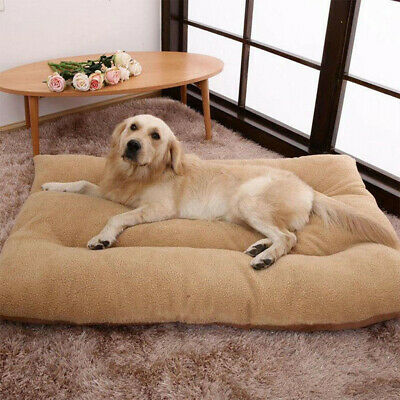 LOSY PET Dog Bed Pet Lounger Deluxe Cushion for Crate Foam Soft - Three Sizes UK