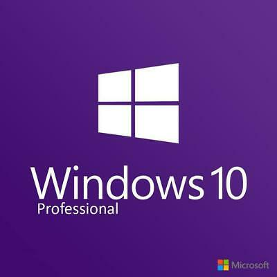Windows 10 Professional Pro License Product Key Code 32 / 64 bit