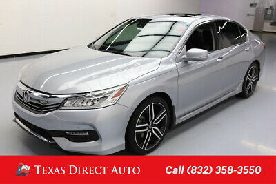 2017 Honda Accord Touring Texas Direct Auto 2017 Touring Used 3.5L V6 24V Automatic FWD Sedan