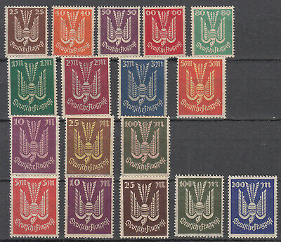 Germany - 1922/1923 Inflation Air stamp collection Sc# C3/C19 - MNH (7604)