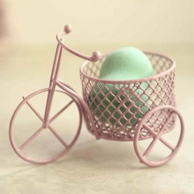 Bicycle frame Makeup Beauty Stencil Egg Powder Puff Sponge Display Stand p