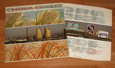 China Crisis - Working With Fire And Steel Vinyl Lp + Inner Sleeve