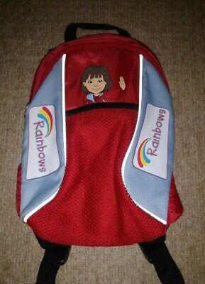 Official RAINBOWS 🌈 Girl Guides Small Backpack - Immaculate